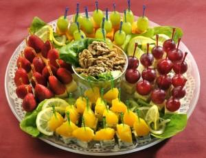 фрукты для фуршета
