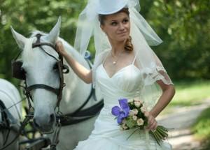 невеста с конём
