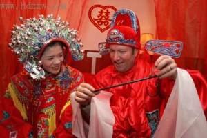 самые красивые свадебные костюмы в китайском стиле