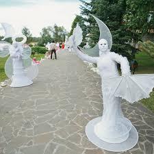 Живые статуи на свадебное торжество