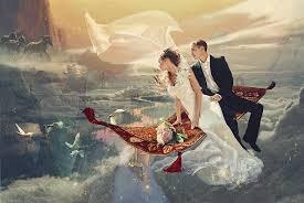 Стиль фэнтези свадьбы для самых романтичных пар