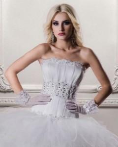 свадебное платье с вшитым корсетом