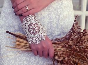 свадебный браслет