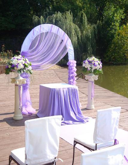 Свадебная арка 89