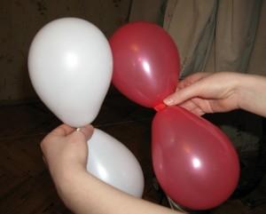 связывание шаров