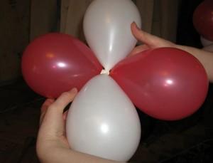 связка из шаров