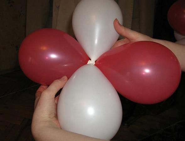 Как сделать гирлянду из воздушных шаров своими 65