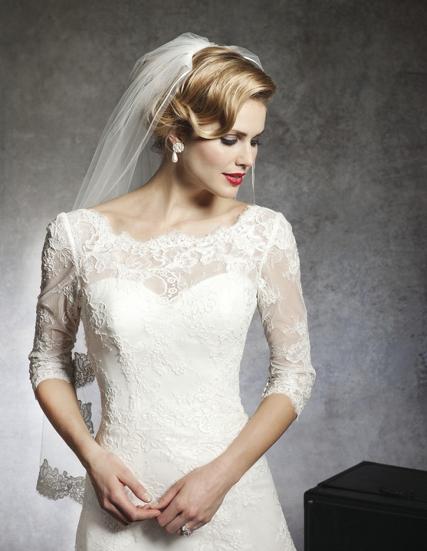 Невесты – кружевное свадебное платье