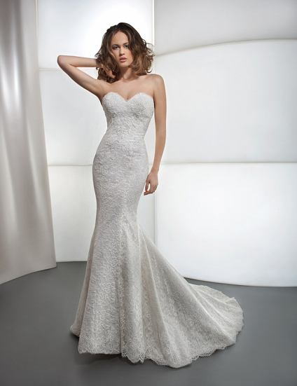 Каким может быть свадебное платье из кружева