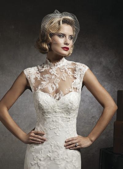 Выбираем кружевное свадебное платье
