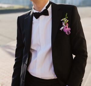 "костюм жениха с ""бабочкой"""