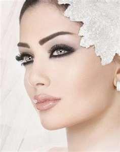 свадебный макияж и аллергия губ: акцент на глаза