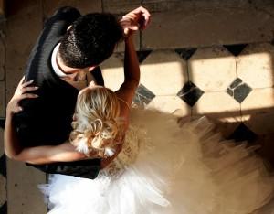 танец новобрачных