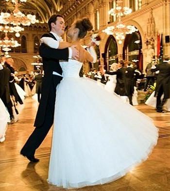 Свадебный вальс танец
