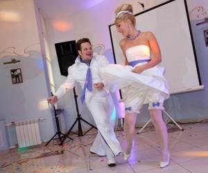 энергичный свадебный танец