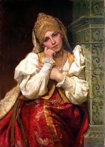 Марфа Собакина - одна из восьма жен Ивана Грозного