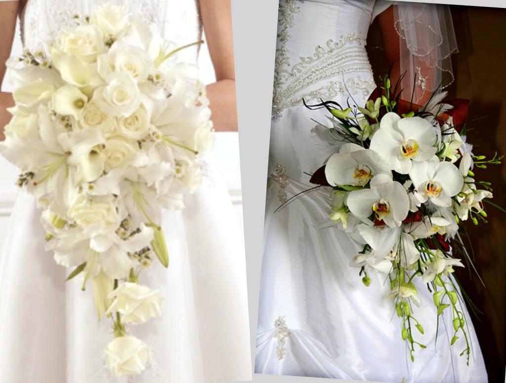 Букеты цветов свадебные спб
