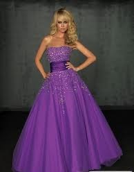 фиолетовый цвет свадебного платья для отважных натур