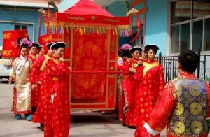 свадебные риуталы в Китае
