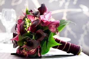 свадебный букет невесты по знаку зодиака- скорпион