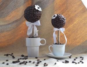 кофейные деревья ручной работы