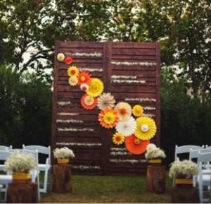 веера-вертушки на свадьбе