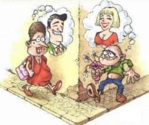 карикатура на знакомство