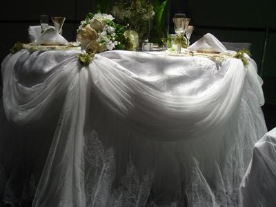 Скатерть свадебная
