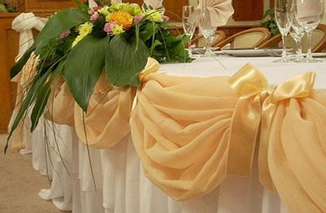Свадебные скатерти на стол своими руками 977