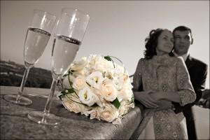 свадебное постановочное фото