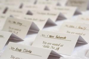 карточки для гостей на свадьбе