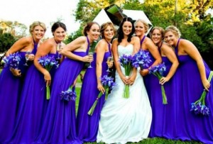 синяя свадьба