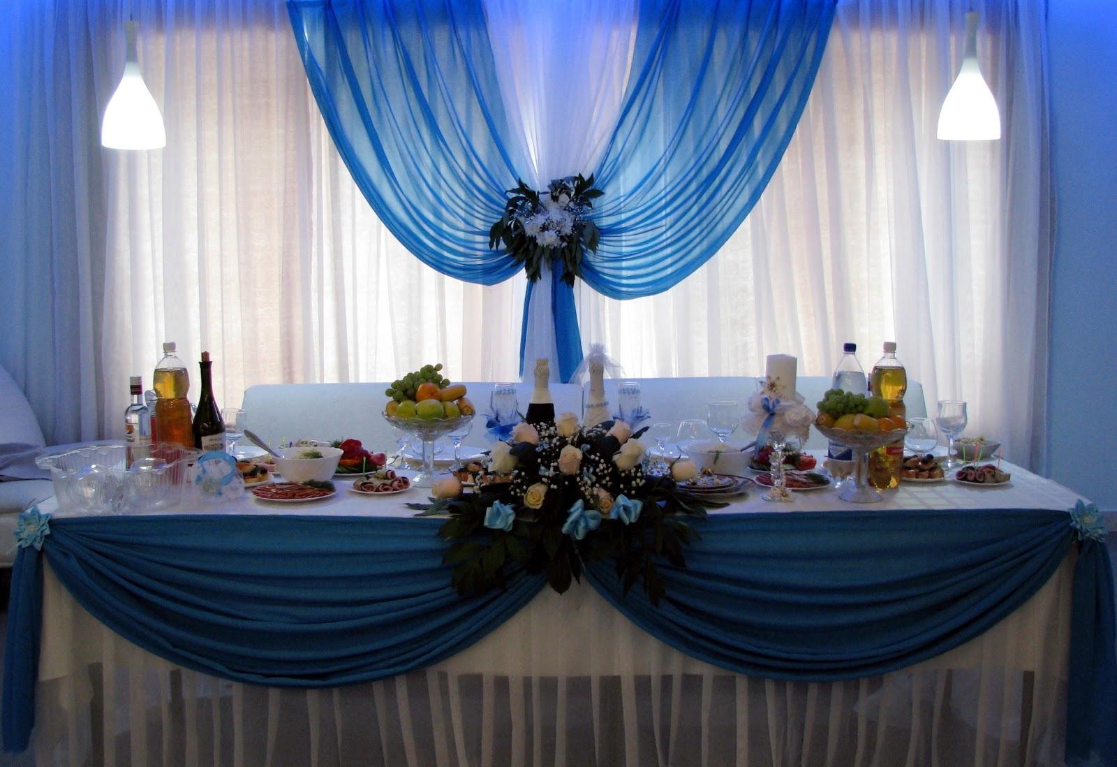 Оформления зала на свадьбу своими руками
