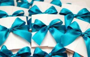 приглашения на синюю свадьбу