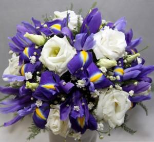 цветы на синюю свадьбу
