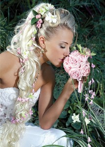 свадебные причёски на короткие волосы