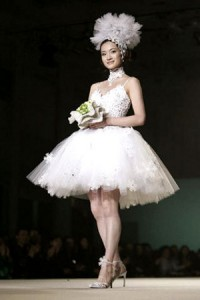 свадебное платье от Юми Катсуры