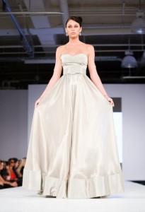 свадебное платье Джед Гандур