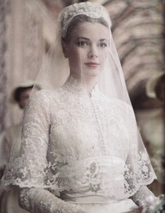свадебный наряд принцессы Грейс Келли