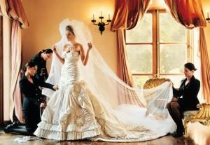 свадебное платье Мелани Кнаусс