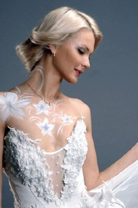 свадебный бодиарт
