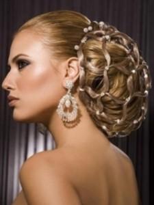 свадебные причёски на длинные волосы