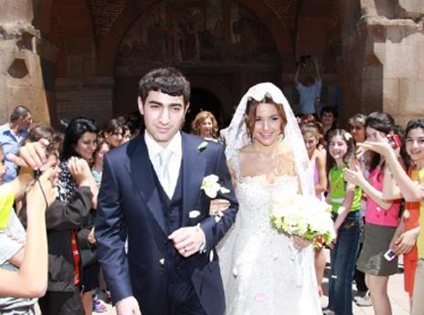 Красивая армянская свадьба