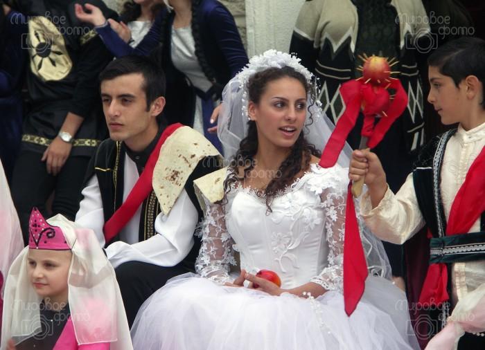 Армянская свадьба современная