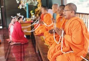 свадебная церемония у буддистов