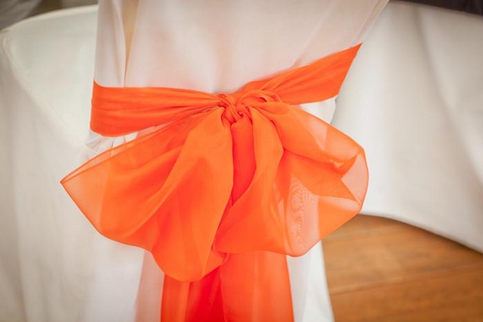 Приглашения на апельсиновую свадьбу