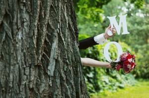 буквы на свадьбе