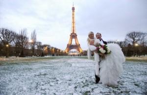 романтичная свадьба
