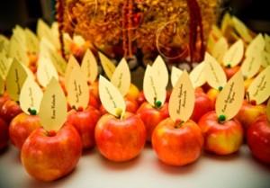 фруктовые карточки для гостей