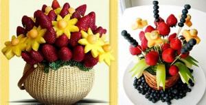 оформление фруктами